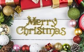Картинка шарики, праздник, шары, новый год, рождество
