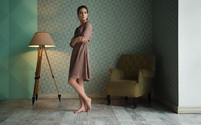 Картинка платье, ножки, губки, Ева, Sergey Fat, Сергей Жирнов, Eva Reber, ᴘʜᴏᴛᴏɢʀᴀᴘʜᴇʀ
