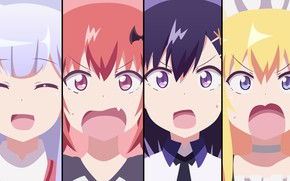 Картинка kawaii, demon, girl, devil, anime, pretty, angel, bat, manga, sugoi, bishojo, seifuku, lolita, loli, oni, ...