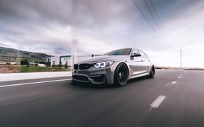Картинка BMW, Grey, F80