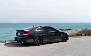 Картинка AMG, Coupe, Mercedes - Benz, C63