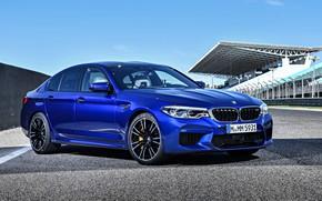 Обои седан, 2018, BMW M5