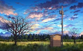 Картинка пейзаж, природа, арт