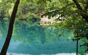 Картинка вода, озеро, отражение