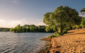 Обои природа, пейзаж, озеро, красота, лето