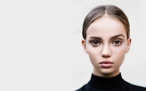 Обои портрет, Inka Williams, nazar noschenko, арт, девушка