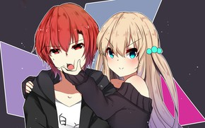 Картинка аниме, арт, двое