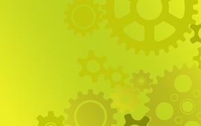 Картинка текстура, yellow, желтая, gears, backgroud, передачи