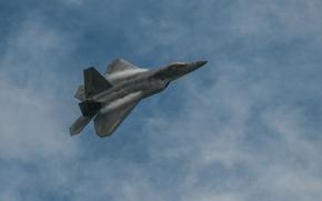 Обои Boeing, Raptor, истребитель, Lockheed, F22
