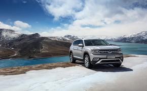 Картинка Volkswagen, 2018, кроссовер, SUV, Atlas, Teramont