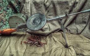 Картинка СССР, ручной пулемёт, DP-27