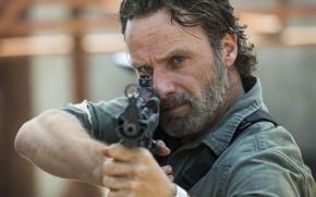 Картинка The Walking Dead, Rick Grimes, Andrew Lincoln, Ходячие, Season 8
