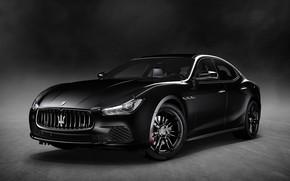 Картинка Maserati, Ghibli, Nerissimo