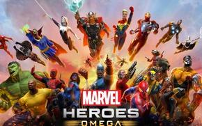 Картинка spider, Hulk, Wolverine, Logan, Iron Man, Deadpool, Captain America, Spider-man, Thor, God, Tony Stark, Spiderman, …