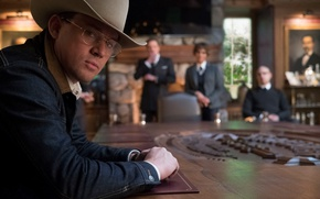 Обои cinema, film, Channing Tatum, Kingsman, Kingsman: The Golden Circle, cowboy, hat, movie