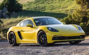Картинка Porsche, Cayman, GTS, 718, 2019