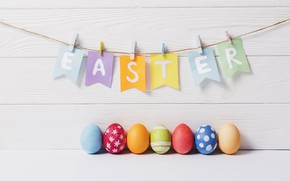 Картинка яйца, пасха, гирлянда, Праздник, православный праздник