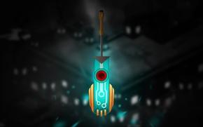Картинка sword, games, Transistor