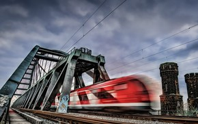 Картинка Fast, Düsseldorf, Hammer Brücke