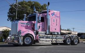 Картинка Pink, Kenworth, T909