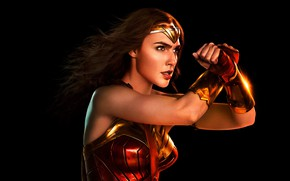 Картинка постер, Gal Gadot, DC Comics, Галь Гадот, Лига справедливости, Wonder Woman, Justice League, комикс, Чудо-Женщина, ...
