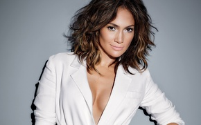 Обои знаменитость, певица, Jennifer Lopez, улыбка, актриса