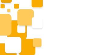 Обои абстракция, abstract, white, геометрия, design, yellow, background, squares