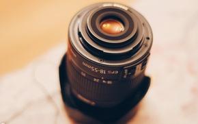 Картинка макро, дом, тепло, камера, атмосфера, фотоаппарат, линза, обьектив, боке