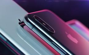 Обои Apple, смартфон, iPhone X