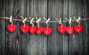 Обои heart, love, wood, дерево, romantic, gift, любовь, I love you, сердечки, Valentine's Day, сердце