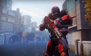 Картинка gun, game, armor, weapon, helmet, Destiny 2, Desriny