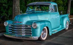 Картинка ретро, Chevrolet, пикап, truck, Thriftmaster