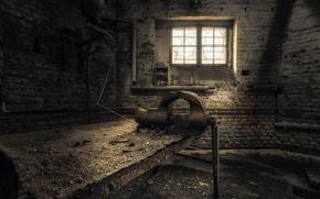Картинка комната, окно, мастерская