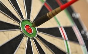 Картинка precision, dart, dartboard