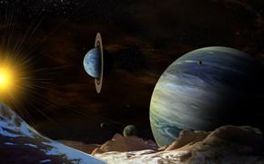 Обои космос, планеты