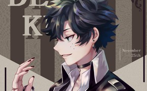 Картинка Fanart, Boku no Hero Academia, Midoriya Izuku, Liyuchen1126