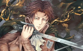 Картинка anime, asian, manga, japanese, asiatic, Shingeki no Kyojin, Attack On Titan, shounen, 008