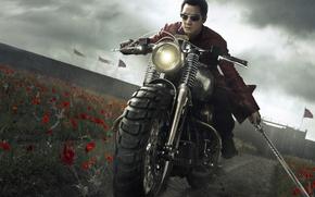 Картинка sword, flower, katana, man, ken, blade, assassin, superbike, season one, hana, season 1, tv series, …