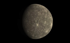 Картинка вселенная, планета, Меркурий, Солнечная Система