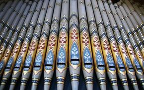 Обои Уэльс, трубы, орган, Рексем