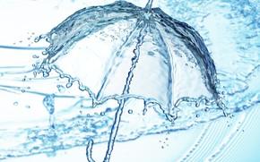 Картинка вода, капля, всплеск, water, illustration, detailed