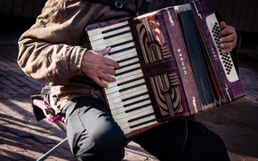 Картинка улица, аккордеон, Streetmusic