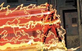Картинка молнии, комикс, the flash, DC Comics, флэш, спидстер, Speedforce