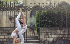Картинка девушки, грация, акробатика, Momo Power, Jade Fitzroy