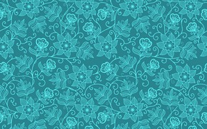 Картинка vector, flower, texture, wallpapers, pattern, seamless, textile, background.