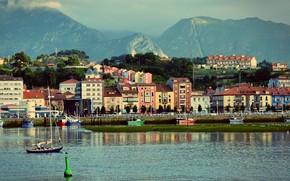 Картинка Spain, Asturias, Basque Country, Ribadesella