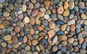 Обои камни, pebbles, texture, пляж, галька, beach, marine, фон, морские