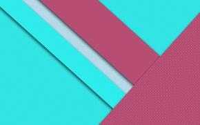 Обои material, design, wallpaper, малиновый, голубой, текстура, линии background
