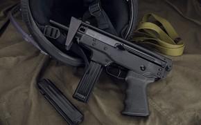 Картинка оружие, gun, weapon, пистолет пулемет, submachine gun, Кедр, Kedr