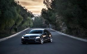 Картинка CLS, Mercedes, AMG, Vossen